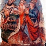 King Drtad, Queen Ashkhen, Princess Khosrovitoukhd