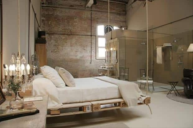 hanging pallet bedroom new ideas design