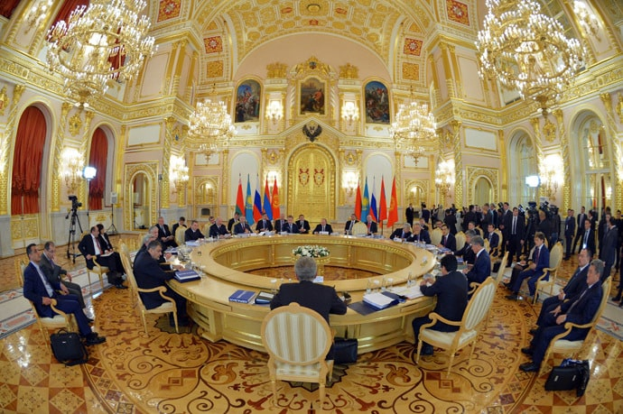Supreme Eurasian Economic Council summit. (RIA Novosti/Alexei Druzhinin)