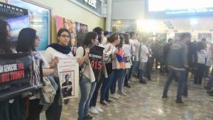 Brave Armenian protests trap Turkish ambassador in Beirut theater at ABC Achrafieh