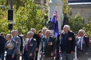 Many Australian veterans march on ANZAC Day in memory of their mates left behind, and the ones that have passed on before them.