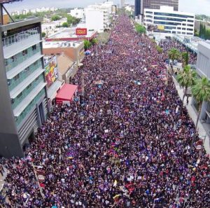 largest protest in LA history to commemorate the 100th anniversary of the Armenian Genocide! 130,000 people marched for justice for 6 miles in Hollywood for the #ArmenianGenocide on April 24, 2015