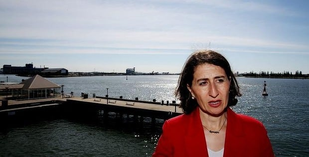NSW Treasurer Gladys Berejiklian has withdrawn from a panel to discuss the film The Cut, which portrays events around the Armenian genocide 100 years ago.