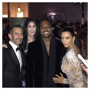 Kimye with Cher and Marc Jacobs Met 2015