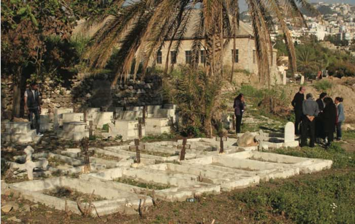 Historic Bird's Nest cemetery in Byblos may be destroyed for a new beach resort.