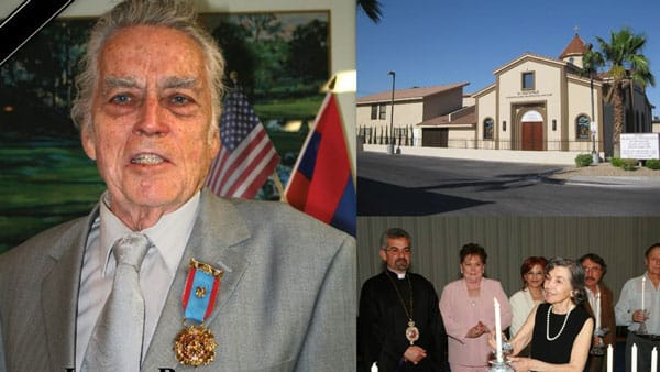 Larry Barnes Benefactor St. Garabed Church of Las Vegas Passes Away
