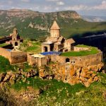 The unreal view of Tatev Monastery. (Photo Greg Keraghosian)
