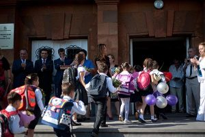 Back To School - Number of first-grade students up in Armenia, but some rural communities have none