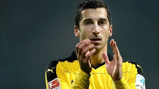 Henrikh Mkhitaryan is Armenia's Player of the Year for the fifth edition in succession