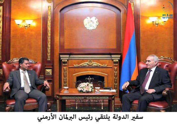 The UAE's Ambassador to Armenia, Dr Jasim Mohammed Al Qasimi, has won Armenia's 'best ambassador award' 2015.