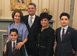 U.S. Chief of Protocol Bids Farewell to Ambassador Sargsyan