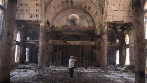 Damage to a Coptic Church in Egypt. AP Photo/Roger Anis, El Shorouk Newspaper
