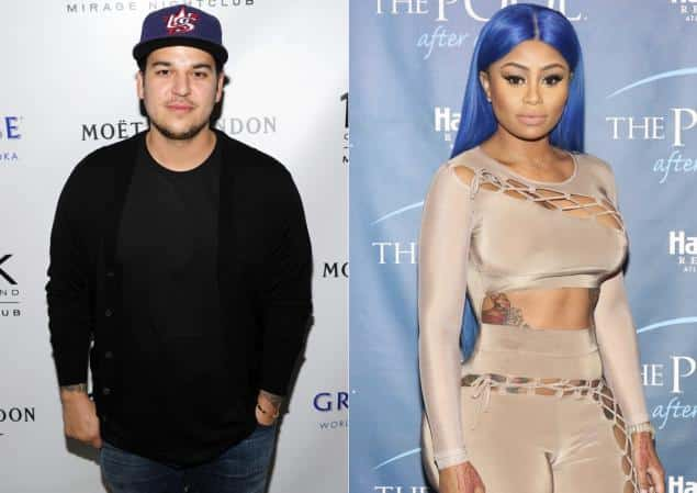 Is there a little Robby Kardashian in there? Rob Kardashian and Blac Chyna