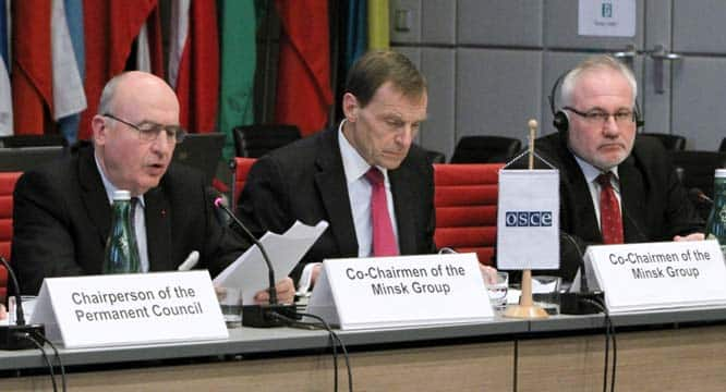 OSCE co-chairmen of the Minsk Group