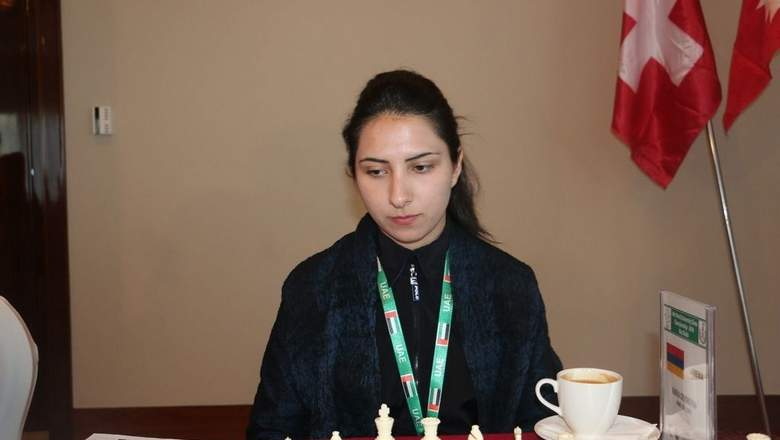 WIM Maria Gevorgyan takes solo lead. (Supplied photo)