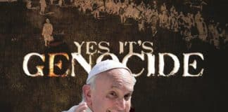 Pope: yes its genocide