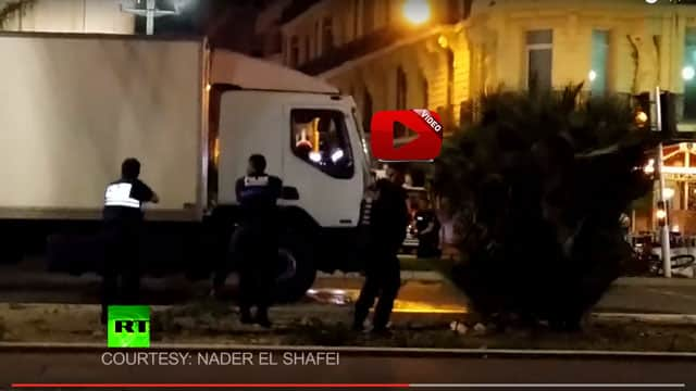 Nice Attack: Moment police stormed and killed truck driver