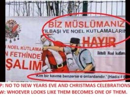 No To Turkish Culture