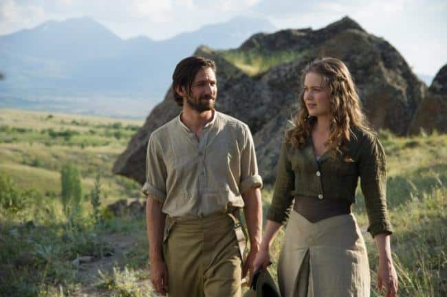 A still from The Ottoman Lieutenant.