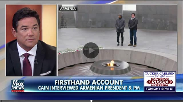 Dean Cain on speaking to Syrian refugees in Armenia