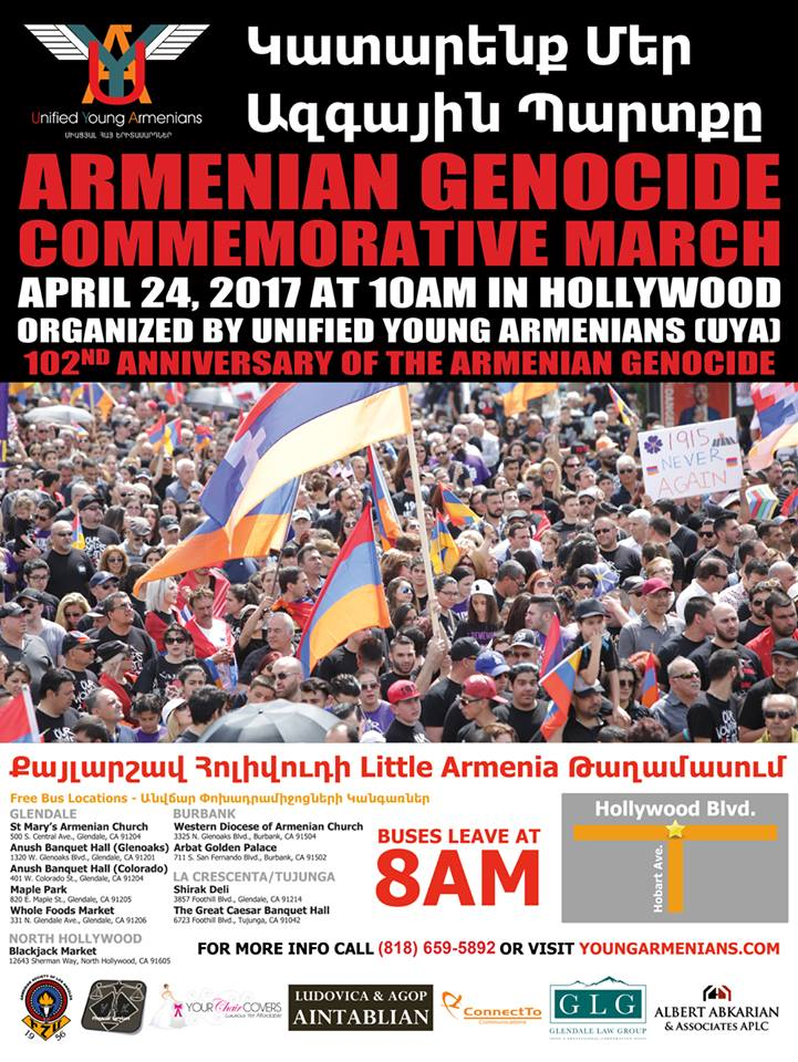 24 April 2017 March in Little Armenia