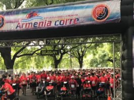 "Eighth Edition of ""Armenia Corre"" Race in Buenos Aires"