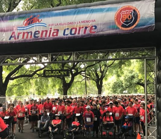 """Eighth Edition of """"Armenia Corre"""" Race in Buenos Aires"""