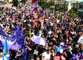 Thousands March to Promise on 24 April 2017 in Little Armenia