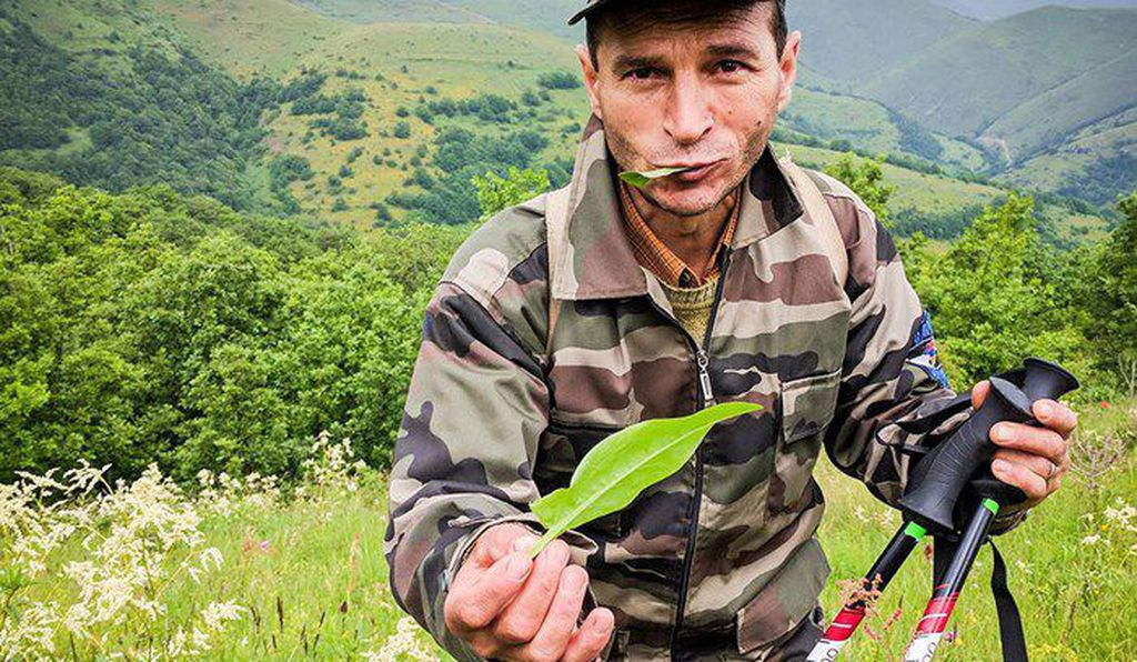 By nature of their proximity, villagers in the Armenian countryside are knowledgeable about indigenous plants and herbs. (Photo by Tom Allen, Transcaucasian Trail)