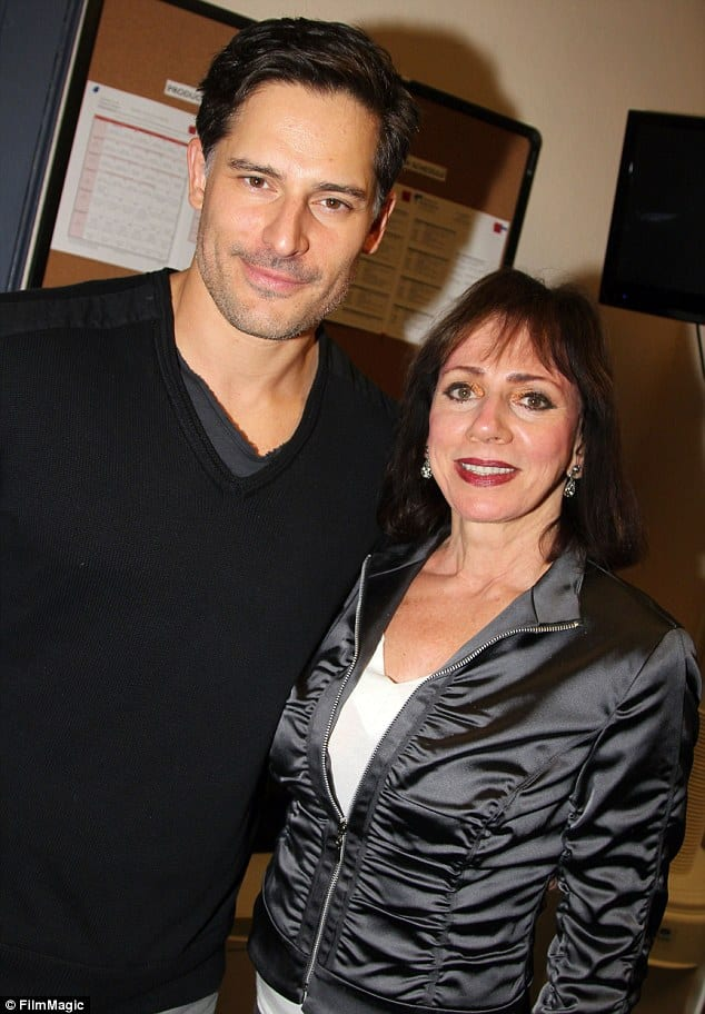 Joe Manganiello and his mother Suzan