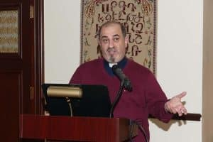 Rev. Mesrob Lakissian of St. Illuminator's Armenian Cathedral in New York City