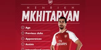 Henrikh-Mekhitaryan-transfer-to-Arsenal