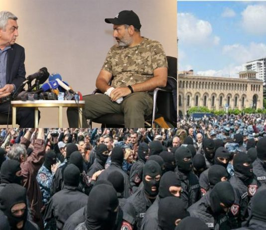 Nikol Pashinyan the leader of protesters in Armenia has been arrested