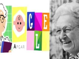 Dr. Virginia Apgar's 109th Birthday | Honored by Google Doodle